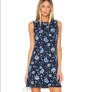 alice + olivia lace floral dress